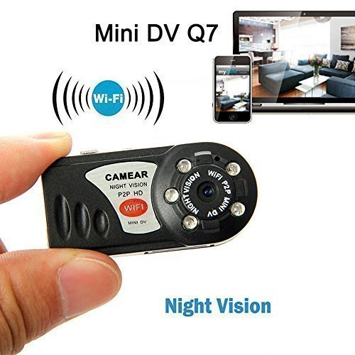 Mini WIFI DVR P2P WiFi IP Camera Indoor Outdoor DV Hidden Spy Camera UK