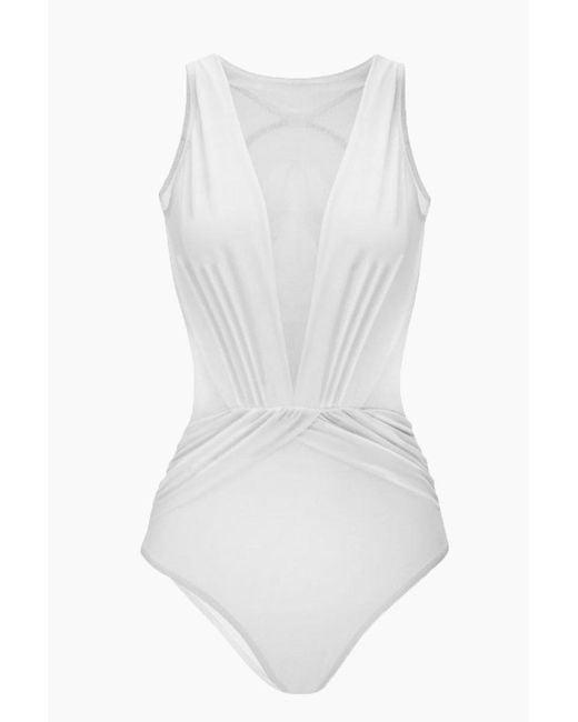 Womens Plus Size Two Piece Flounce Printed Swimdress Tummy Control Swimwear Slimming Swimsuits Bathing Suit by Nevera