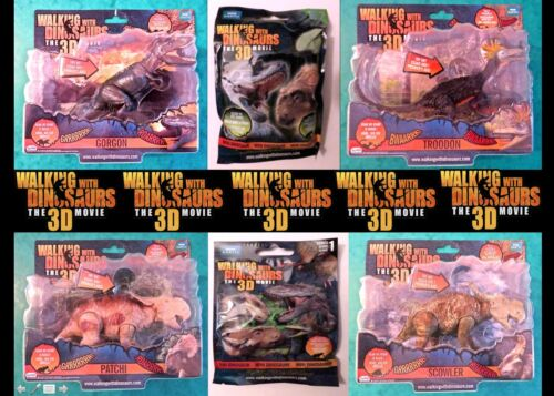 """GORGON WALKING WITH DINOSAURS /""""THE MOVIE/""""ELECTRONIC FIGURES INCL PATCHI"""