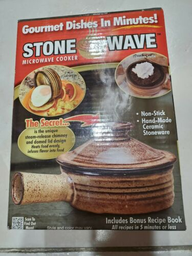 Buy As Seen On Tv Stone Wave Microwave Cooker Non Stick Steam Release Online In Bahrain 254528288725