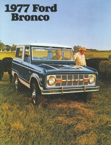 1977 Ford Bronco Sales Brochure Buy Products Online With Ubuy