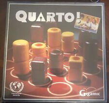 Buy Quarto Gigamic Abstract Board Game Wood Pieces New Sealed Online In Bahrain 193275341786