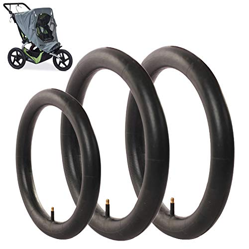 3-Pack Two 16 x 1.5//1.75 Rear and One 12.5 x 1.75//2.15 Front Heavy Duty Thorn Resistant Replacement Inner Tire Tube for BoB Stroller Tire Tube Revolution SE//Pro//Flex//SU//Ironman