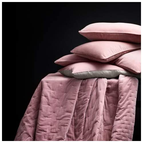 King LINUM Paolo Bedspread Cotton Dusty Pink