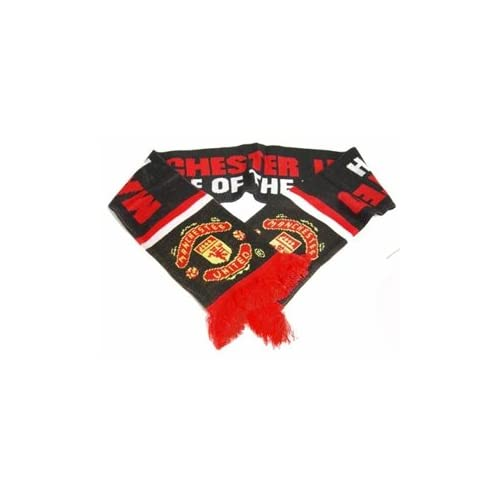 Manchester United FC Official Licensed Team Scarf Pride of the North