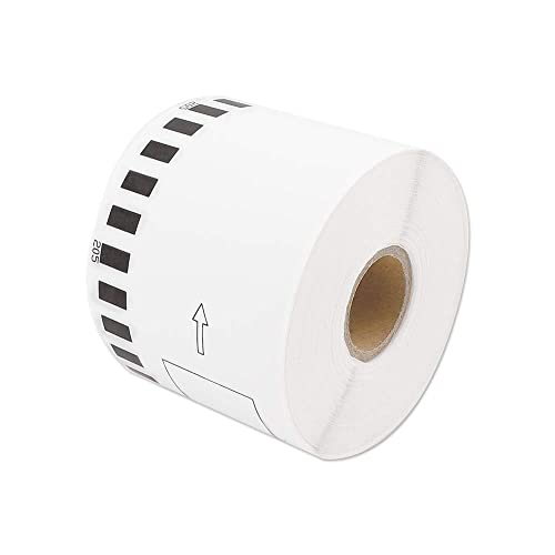 1 Roll Shipping Labels for Brother QL Laber QL800 QL810w QL500 QL570 QL710w Plus 1 Reusable Frame 62mm x 30.48m Address Labels Compatible QL Labels Replacement for Brother DK-2205 2-3//7x 100
