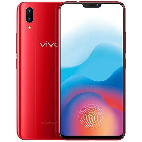 الأصلي Vivo X21 شاشة بصمة في الماسح الضوئي لبصمات الأصابع الهاتف المحمول 6 28 6gb Ram 128gb Rom كاميرا خلفية مزدوجة أندرويد 8 1 2280x1080 الوجه أعقاب الهاتف الأحمر