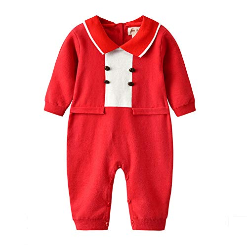 Auro Mesa Unisex Baby Newborn Navy Plaid Knit Overalls Romper Toddler Girl Fall Clothes 2020 Jumpsuit