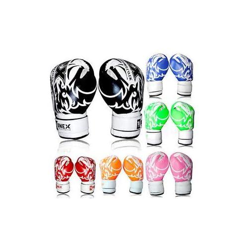 2oz,6oz Gloves Kids Junior Boxing Gloves MuayThai Training Sparring Punching Mit