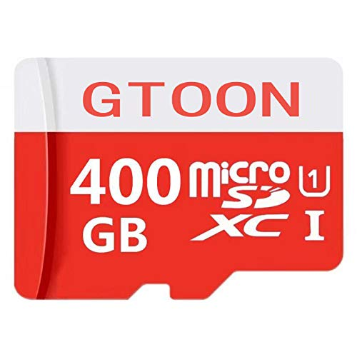 400GB 400GB Micro SD Card High Speed Class 10 SDXC with Free SD Adapter Tablets and Other Compatible Devices Designed for Android Smartphones