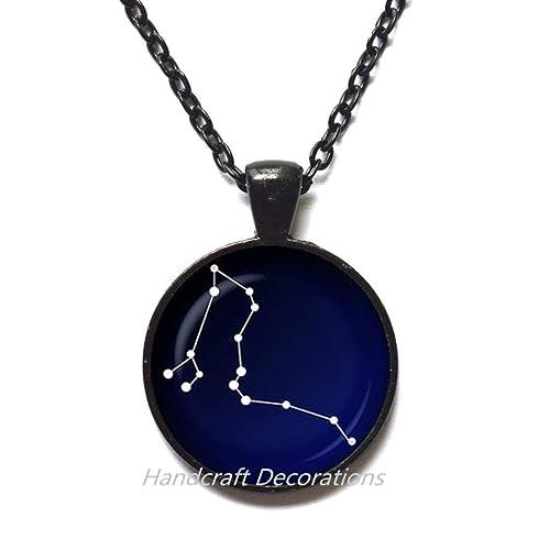 HandcraftDecorations Draco Constellation Glass Pendant.Night Sky Necklace.Stars,Astronomy,Space Jewelry,Birthday Gift,Photo Pendant Art Pendant Photo Jewelry Art Jewelry Glass Jewelry.F103