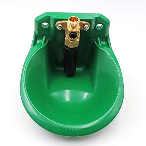 Copper water valve PROBEEALLYU Copper Water Valve for Automatic Sheep Water Bowl