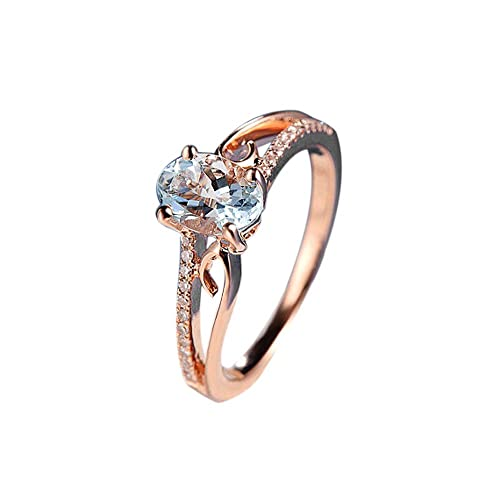 Amsky Big Sale Engagement Wedding Rings For Women Exquisite Women Oval Ring Diamond Jewelry Bride Engagement Wedding Ring Buy Products Online With Ubuy Bahrain In Affordable Prices B07k75l82k