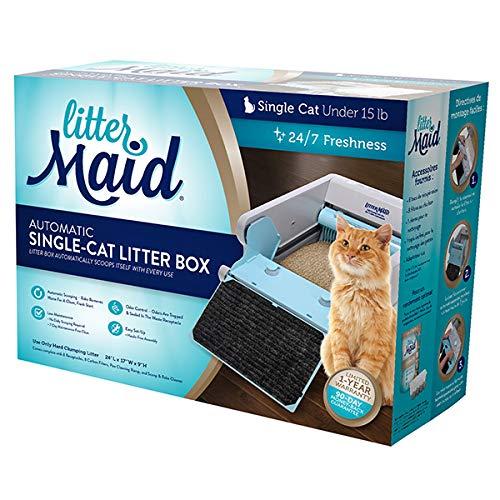 Choler Fully Enclosed Self-cleaning Cat Litter box Cartoon Coccinella septempunctata Shaped