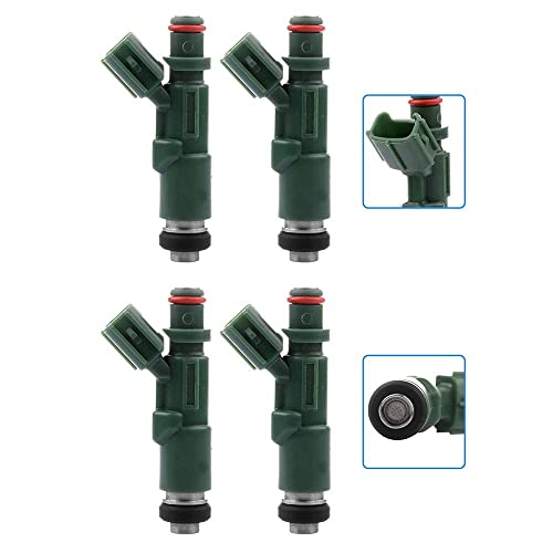 XWAUTOGJ Set Of 1 Fuel Injector Nozzles For 2000 Chevrolet Prizm 1999-2008 Toyota Avensis Celica Corolla Mr2 III Matrix 1.8L L4 89053915 232090D040 23250-22040 232500D040 232500D040 2320922040