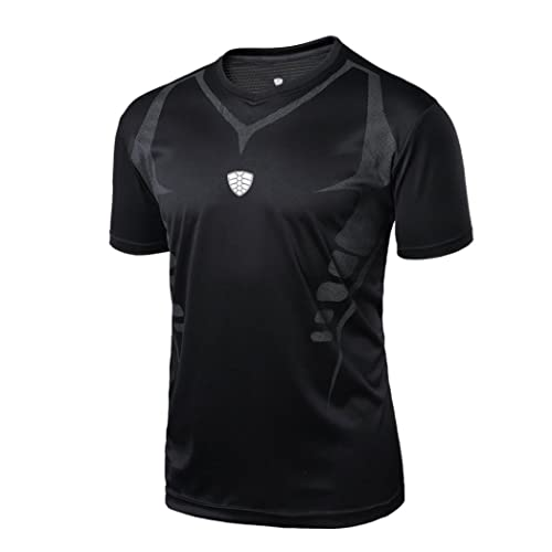 Charberry Man Workout Leggings Fitness Sports Gym Running Yoga Athletic Shirt Top Blouse 2019 New T-shirt for Men