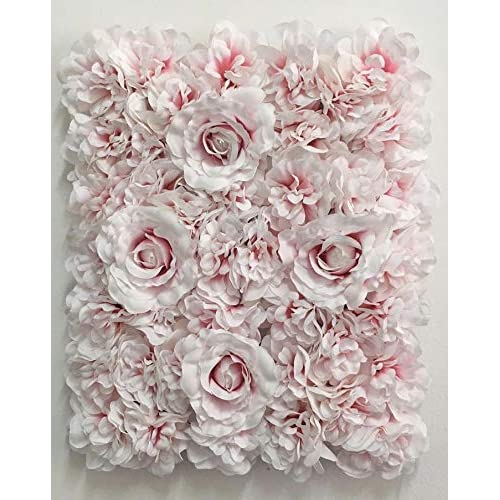 Buy Blush Blooms Decorative Artificial Flower Panel Flower Wall Backdrop Wedding Bridal Shower Baby Shower And Event Decor Gradient White And Pink Online In Bahrain B07gt6vc1v