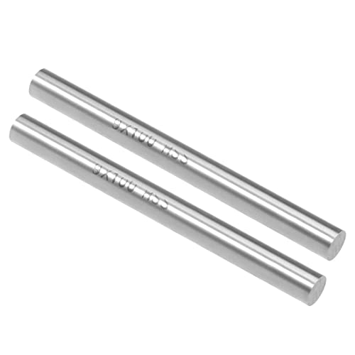 10pcs 2mm x 150mm 304 Stainless Steel Solid Round Rod for DIY Craft