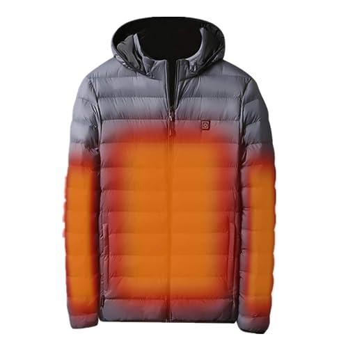 aihihe Jackets for Men Full-Zip Sweatshirts Windbreaker Lightweight Bomber Jacket Coat