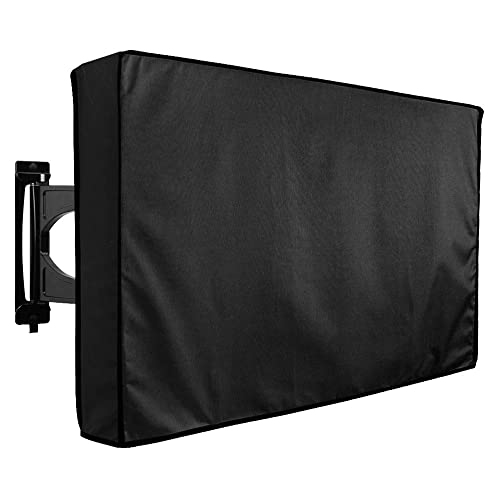 /… Protect Your TV Now Outdoor TV Cover 46 The Weatherproof and Dust-Proof Material with Free Microfiber Cloth Now with Front Flap