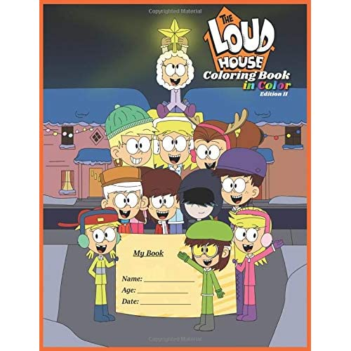 - The Loud House Coloring Book In Color Edition II: Una Casa De Locos Libro  Para Colorear En Color Edición 2 Buy Products Online With Ubuy Bahrain In  Affordable Prices. 1091909954