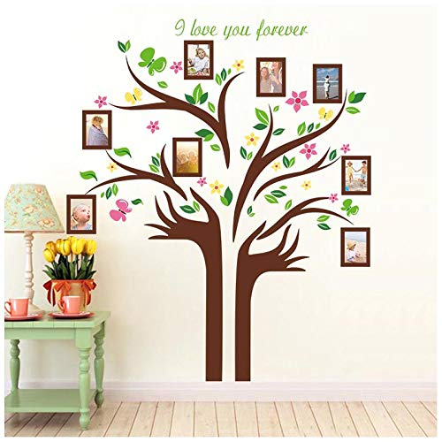 Buy Family Tree Wall Decal With Quotes H2mtool Removable 5 X7 Photo Frame Wall Stickers For Room Art Background Decor Family Tree Online In Bahrain B07syktp9t