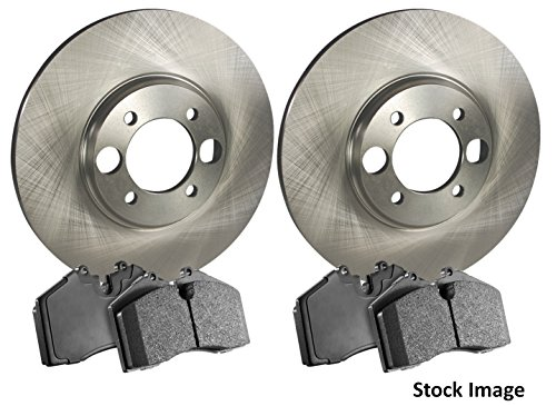 Stirling 2011 For BMW X5 Front Disc Brake Rotors and Ceramic Brake Pads Note: xDrive35d