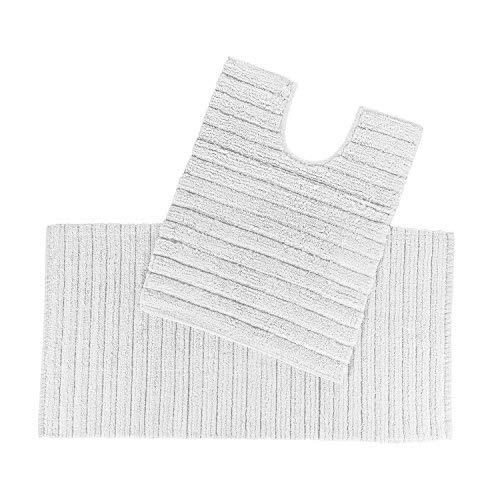 /Toalla Supremo Luxe suave y absorbente de algod/ón egipcio gris plata 700/gr//m/² Drap de bain 95 x 150 cm Homescapes/ algod/ón egipcio gris plateado