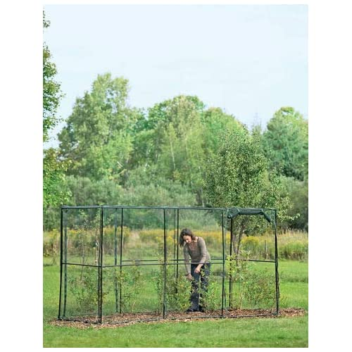 Gardeners Supply Company Crop Cage 4 x 12 Plant Protection Tent
