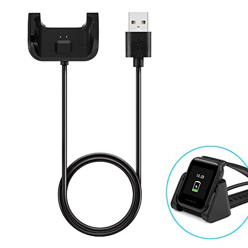 USB Charger for Huami Amazfit Bip BIT PACE Lite Youth Silicone Wristband Straps