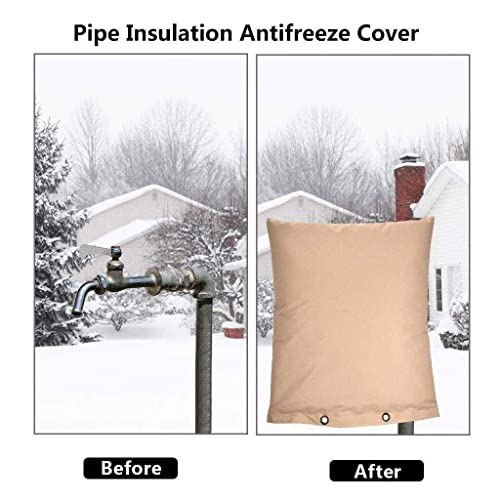 Winter Outside Tap Cover Waterproof Water Faucet Sleeves Freeze Protection
