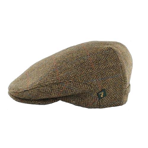 Herringbone Cap Mens Wool Cap Classic Slim Fit Designed in Ireland/…