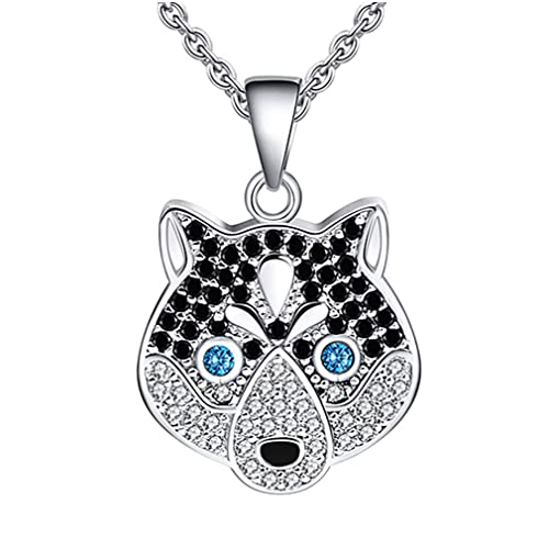 Ginger Lyne Collection Dolphins CZ Sterling Silver Pendant Water Waves Chain...