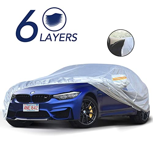 CoverMaster Gold Shield Car Cover for BMW 428i 5 Layer Waterproof