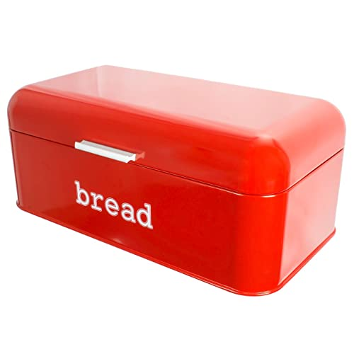 Steel Bread Box for Kitchen//Storage Container Red Wesco Single Breadboy