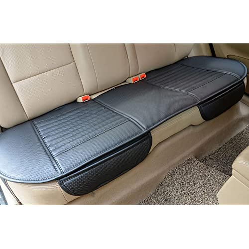 Width 20.8/×deep 21/×Thick 0.35 Brown EDEALYN Luxury car Interior PU Leather car seat Cushion Protector Front Car Seat Cover,Single seat Cushion