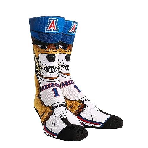 NCAA Super Premium College Fan Socks S//M, Georgia Bulldogs - Logo Statement