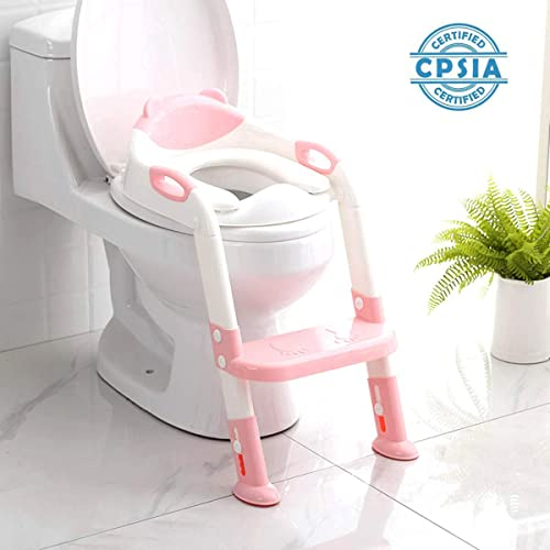 Toddle Potty Chair Patent Pending EasyGoProducts Potty Training Seat for Boys and Girls-Ergonomic Design and Anti-Splash Feature Toilet Trainer