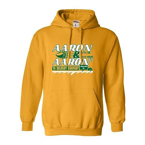 Youth Aaron /& Aaron TD Delivery Company Green Bay Crewneck Sweatshirt