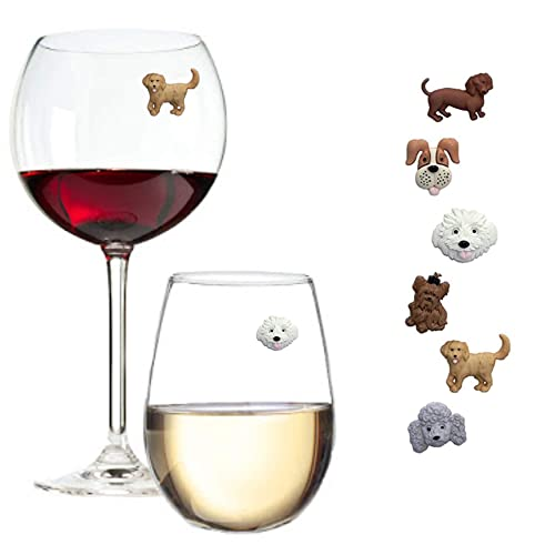 Hostess Gift Wine Gift and Favors Dinner Parties For Wine Tasting Party Wine Glass Markers Set of 10 Butterfly Silicone Drink Glass Charms /& Wine Charm Tags with Suction Cup