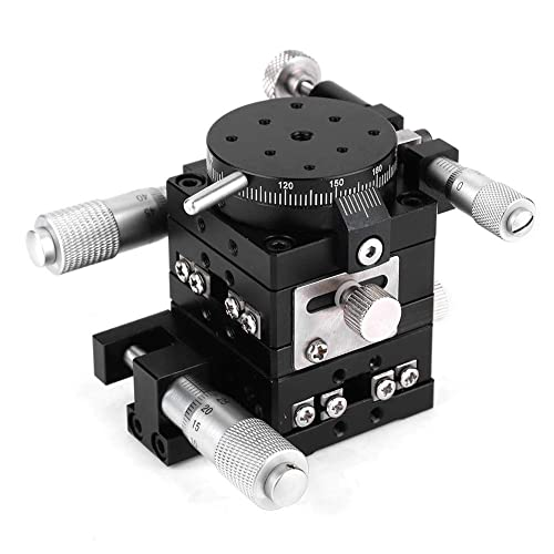 MXG‑S40 Linear Roller Bearings Accurate Manual Stage Linear Translation Sliding Table Motion Fine‑Tuning Tool