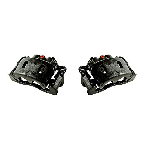 REAR Premium Grade OE Semi-Loaded Caliper Assembly Pair Set CCK02473 2