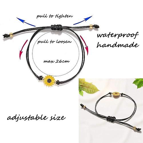 beemean Pinky Promise Distance Bracelets Couple Friendship Matching Bracelets Anklets Women Girls Gift Jewelry