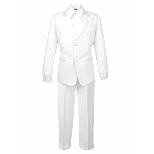 Spring Notion Baby Boys Ivory Classic Fit Tuxedo Set No Tail