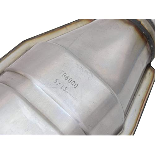 Rear, Non-CARB Compliant aFe Power 47-48004 Direct Fit Catalytic Converter Replacement