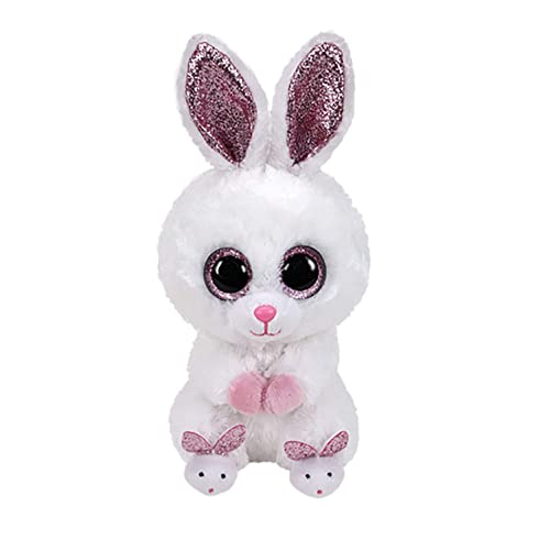 """6/"""" TY Beanie Boo 2018 New Begonia the Bunny Glitter Eyes With Tag Plush Toy"""