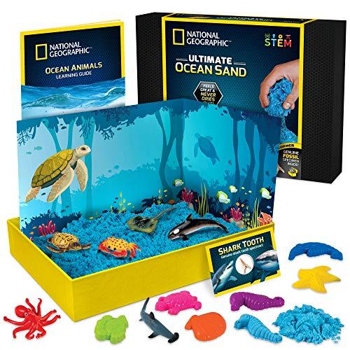 The Epic Animals Creatures Ocean diramix Gel microspheres Slime Sand 4 pcs