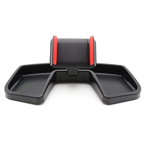Auto Cell Dash Mount Interior Accessoires CheroCar Cellphone Phone Holder Kit Multi-Mount with Storage Box for Jeep Renegade 2015-2019