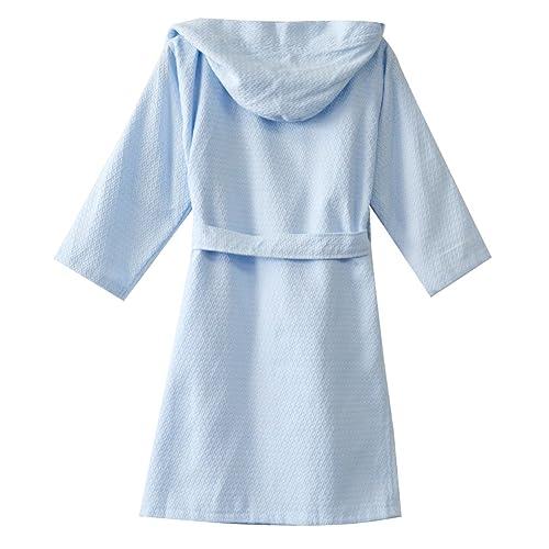 KISBINI Boys Cartoon 100/% Cotton Bathrobe Rabbit Bathing Robes for Kids Children