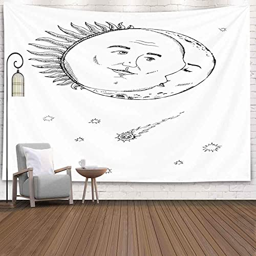 Buy Crannel Wall Tapestry Tapestry For Women Vintage Sun Moon Tapestry 80x60 Inches Wall Thanksgiving Fall Tapestries Christmas Hanging For Dorm Room Living Home Decorative Online In Bahrain B0836q52gj